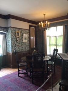 Wightwick Manor breakfast/morning room