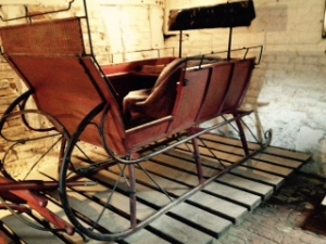 Canadian sleigh in Wightwich Manor