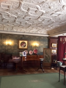 Wightwick Manor parlour with C19th Grand piano