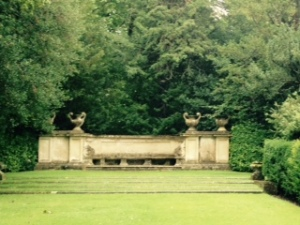 Wilton House garden urns earned after a long walk