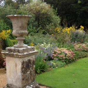 Wilton House gardens herbaceous border