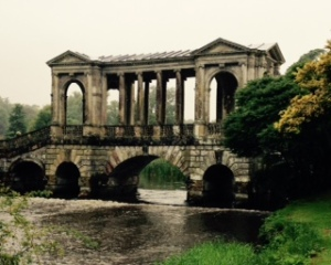 Palladian bridge over the Wylie River (nicer on a sunny day)