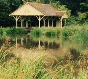 Summer house at Wilton on the Wylye River