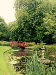 Water garden at Wilton House