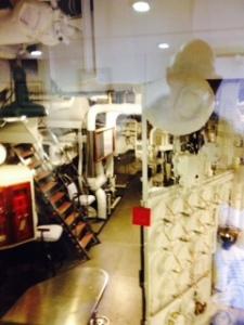 Brittania Engine room 1