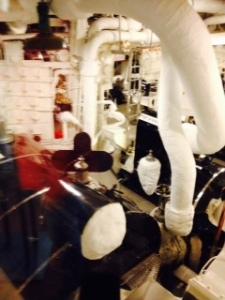 Brittania engine room 2