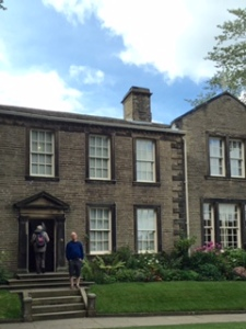 The Bronte Parsonage. The house looks big enough but the rooms were tiny for four children, the father and a housekeeper