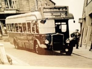 Bronte Old Haworth bus