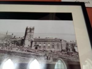 Bronte original church led by Patrick Bronte