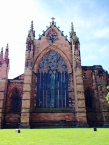 Carlisle cathedral exterior
