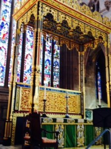 High altar of Carlisle Cathedral