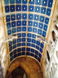 Carlisle Cathedral nave ceiling