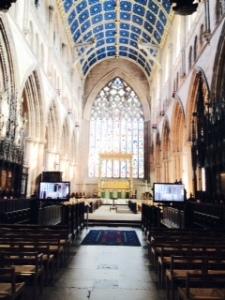 Carlisle cathedral nave