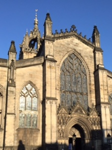 St Giles Presbyterian Cathedral in Edinburgh