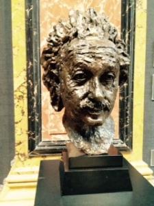 Jacob Epstein sculpture of Einstein (Epstein did the Christ in Majesty at Llandaff Cathedral)