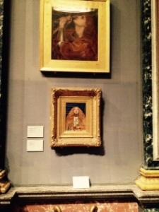 Two Pre-Raphaelites: Rossetti