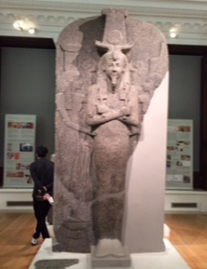 Huge Rameses 11? sarcophagus lid