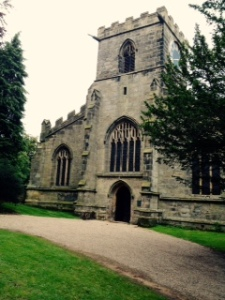Harewood All Saints Church exterior. The Church is on the estate and still consecrated but not used regularly
