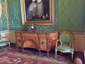 Harewood another Chippendale cabinet