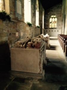 Harewood church tombs