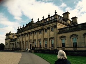 Harewood exterior of north face as you arrive
