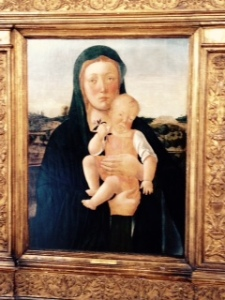 Giovanni Bellini Madonna and Child Harewood long gallery