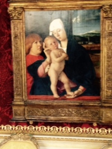 Jacobo Bellini Madonna and child and donor