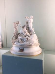 Part of Meissen porcelain collection