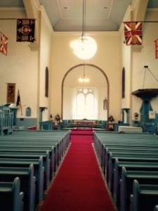 Holyrood cannongate church int 2
