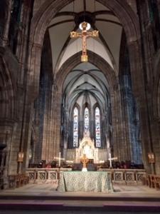 Holyrood St Marys sanctuary