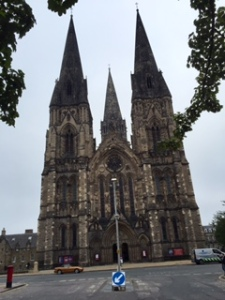 Holyrood St Marys West face