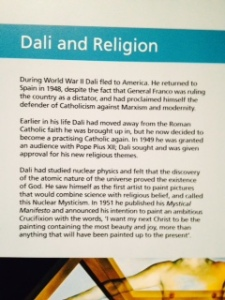 Kelvingrove Dali notes on religion