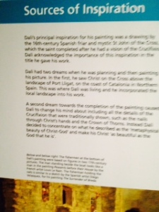 Kelvingrove Dali sources of inspiration info