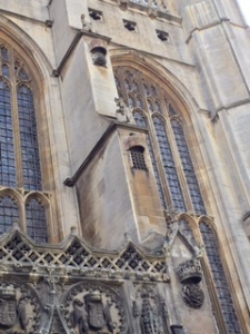 More external detail of Kings College Chapel