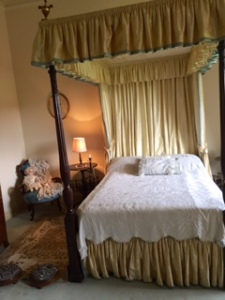 Beatrix Potter's bedroom at Melford Hall