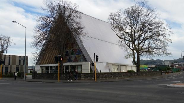 NZ Christchurch Cardboard Cathedral