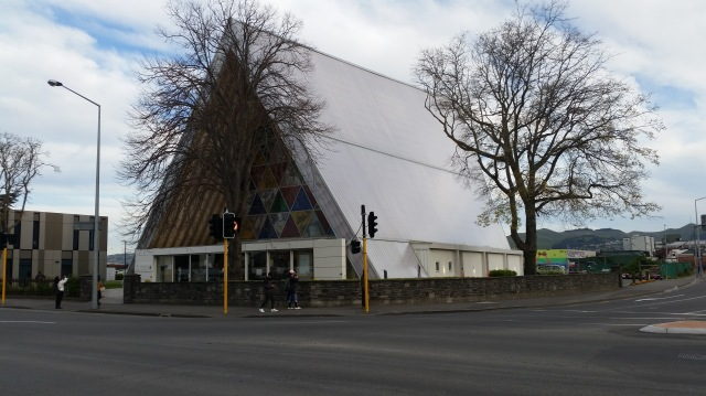 NZ Christchurch Cardboard Cathedral