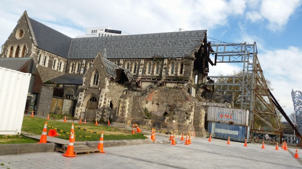 NZ Christchurch Cathedral 2018