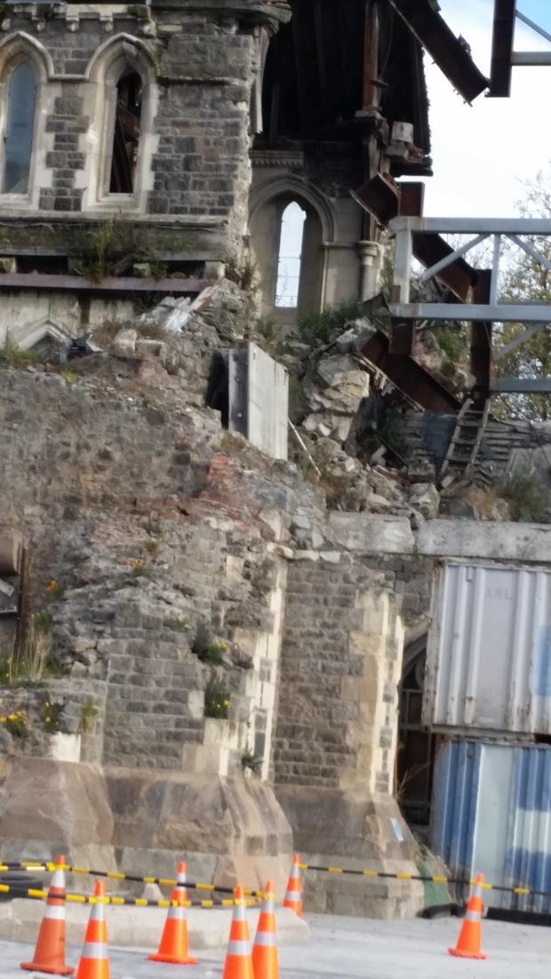 NZ Christchurch cathedral damage