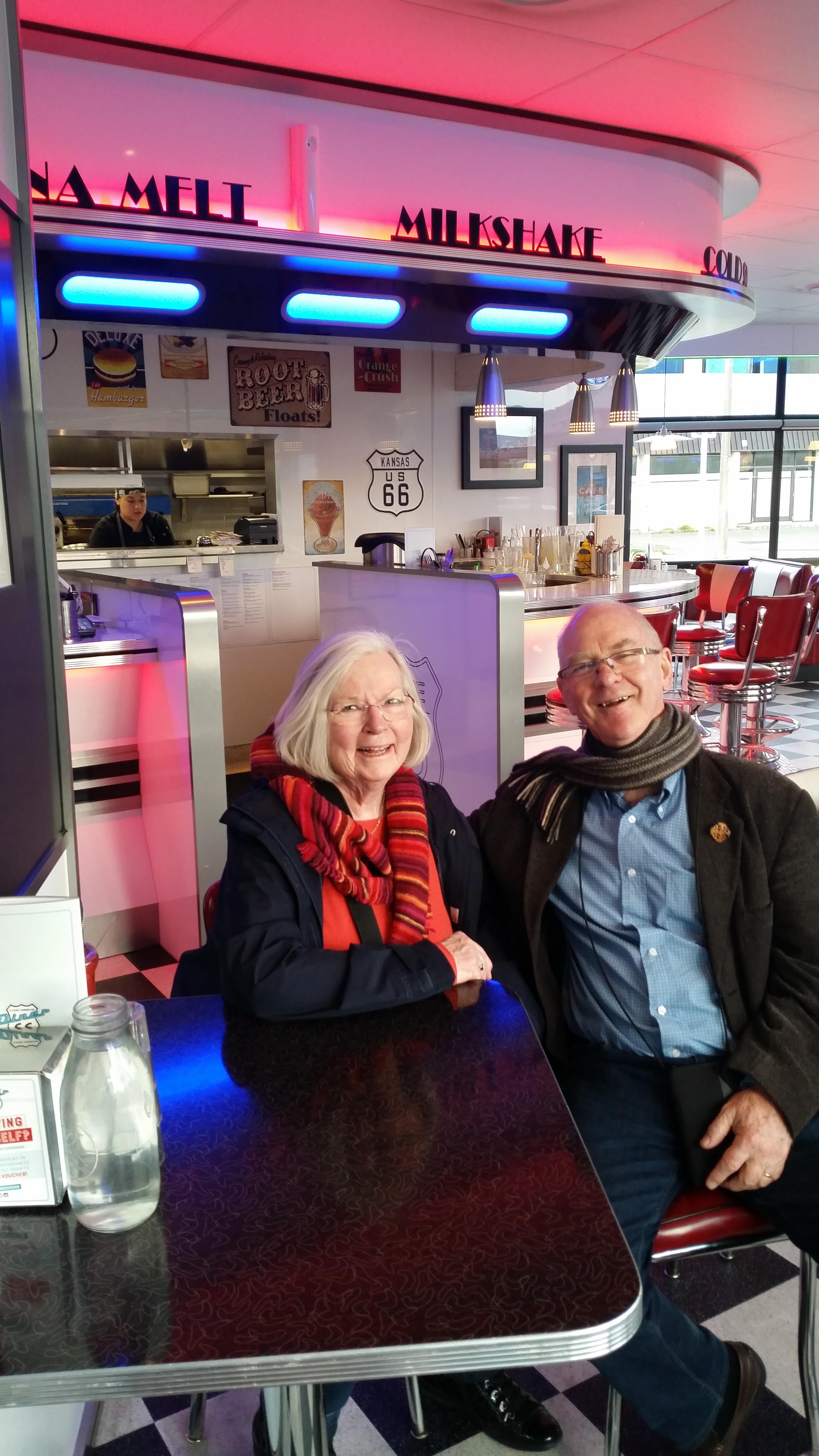 NZ Christchurch USA Route 66 Cafe