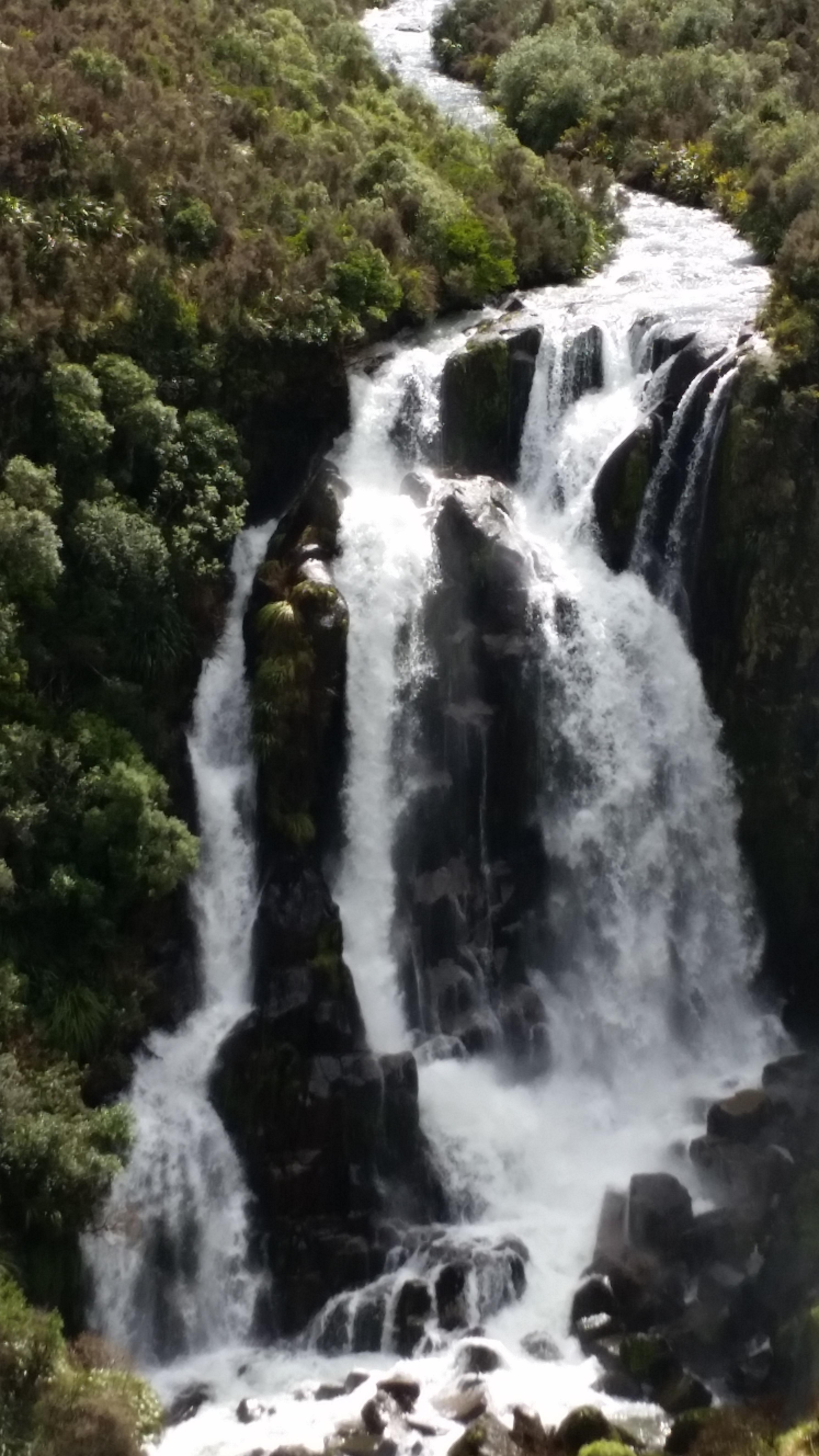 NZ North Island waterfall