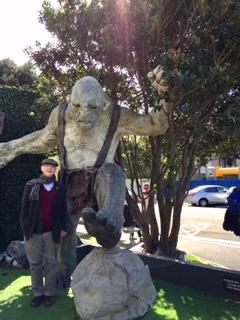 NZ Weta Design Studio troll from Tolkien